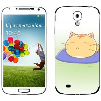 Виниловая наклейка «Poyo спит» на телефон Samsung Galaxy S4