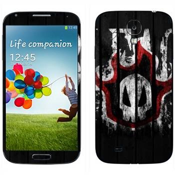 Виниловая наклейка «Блич логотип» на телефон Samsung Galaxy S4