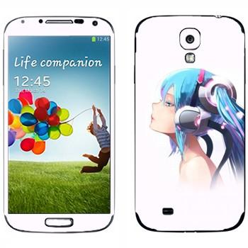 Виниловая наклейка «Хацунэ - Vocaloid» на телефон Samsung Galaxy S4