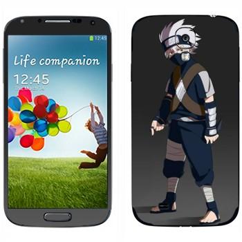 Виниловая наклейка «Хаттаке Какаси» на телефон Samsung Galaxy S4
