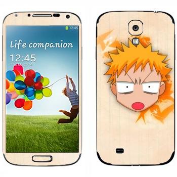 Виниловая наклейка «Ичиго - Bleach» на телефон Samsung Galaxy S4