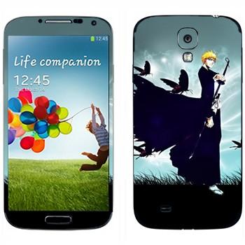 Виниловая наклейка «Ичиго Куросаки» на телефон Samsung Galaxy S4