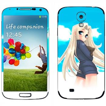 Виниловая наклейка «Интегра Артур Файрбрук Вингейтс Хеллсинг» на телефон Samsung Galaxy S4