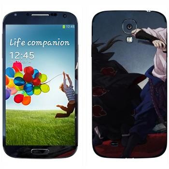 Виниловая наклейка «Итачи и Саске - Наруто» на телефон Samsung Galaxy S4