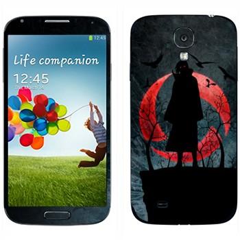 Виниловая наклейка «Итачи Учиха - Наруто» на телефон Samsung Galaxy S4