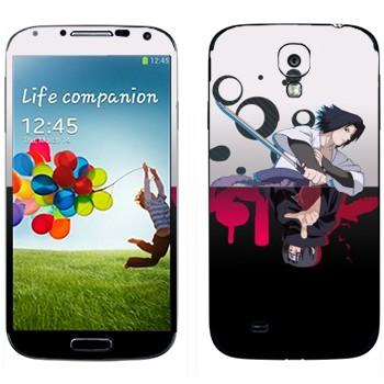 Виниловая наклейка «Итачи Учиха и Саске Учиха» на телефон Samsung Galaxy S4