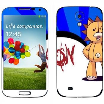 Виниловая наклейка «Кон - Bleach» на телефон Samsung Galaxy S4