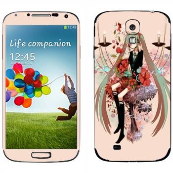 Виниловая наклейка «Мириам - Вокалоид» на телефон Samsung Galaxy S4