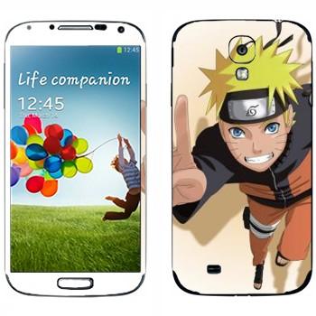 Виниловая наклейка «Наруто» на телефон Samsung Galaxy S4