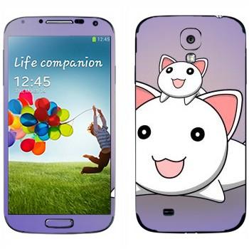 Виниловая наклейка «Неконяши» на телефон Samsung Galaxy S4