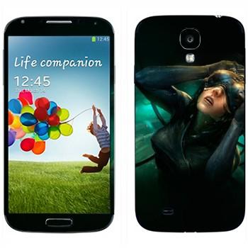 Виниловая наклейка «Призрак в доспехах» на телефон Samsung Galaxy S4