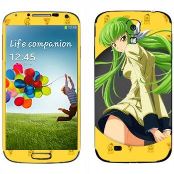 Виниловая наклейка «СС 2 -  Код Гиасс» на телефон Samsung Galaxy S4