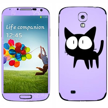 Виниловая наклейка «Та-Кун  - Kawaii» на телефон Samsung Galaxy S4