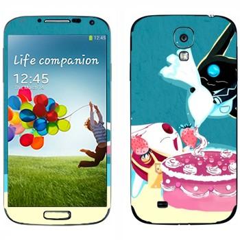 Виниловая наклейка «Торт Моконы» на телефон Samsung Galaxy S4