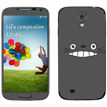 Виниловая наклейка «Тоторо серый» на телефон Samsung Galaxy S4