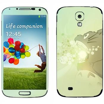 Виниловая наклейка «Тоторо злой» на телефон Samsung Galaxy S4