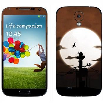 Виниловая наклейка «Учиха Итачи» на телефон Samsung Galaxy S4