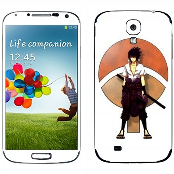 Виниловая наклейка «Учиха Сасуке» на телефон Samsung Galaxy S4