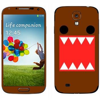 Виниловая наклейка «Зубастый - Kawaii» на телефон Samsung Galaxy S4