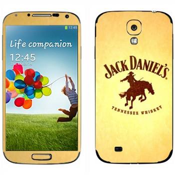 Виниловая наклейка «Jack daniels Родео» на телефон Samsung Galaxy S4