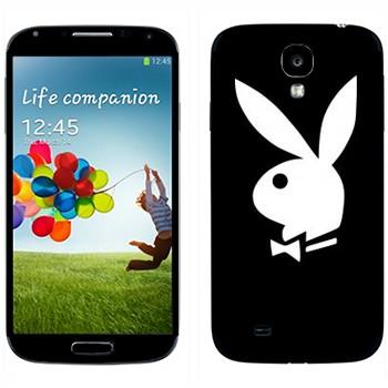 Виниловая наклейка «Логотип Playboy» на телефон Samsung Galaxy S4