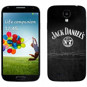 Виниловая наклейка «Виски  - Jack Daniels» на телефон Samsung Galaxy S4