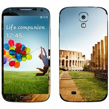 Виниловая наклейка «Колизей - Рим» на телефон Samsung Galaxy S4