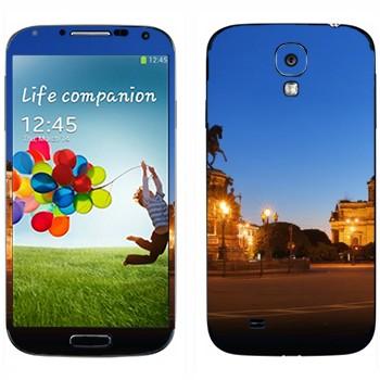Виниловая наклейка «Санкт-Петербург» на телефон Samsung Galaxy S4