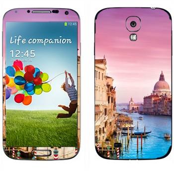 Виниловая наклейка «Венеция» на телефон Samsung Galaxy S4