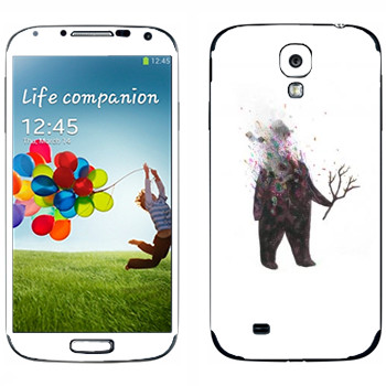 Виниловая наклейка «Kisung Treeman» на телефон Samsung Galaxy S4