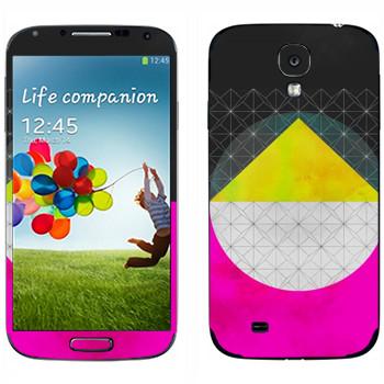 Виниловая наклейка «Quadrant - Georgiana Paraschiv» на телефон Samsung Galaxy S4