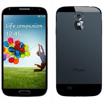 Виниловая наклейка «А-ля iPhone 5» на телефон Samsung Galaxy S4