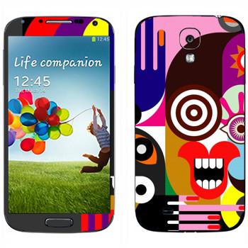 Виниловая наклейка «Арт» на телефон Samsung Galaxy S4