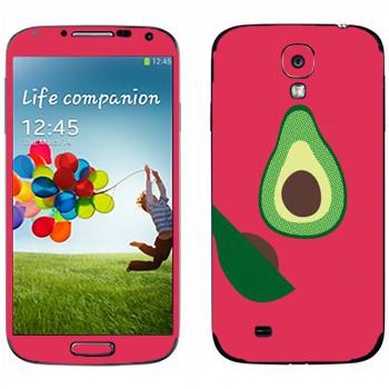 Виниловая наклейка «Авокадо - Georgiana Paraschiv» на телефон Samsung Galaxy S4