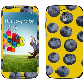 Виниловая наклейка «Черника - Georgiana Paraschiv» на телефон Samsung Galaxy S4