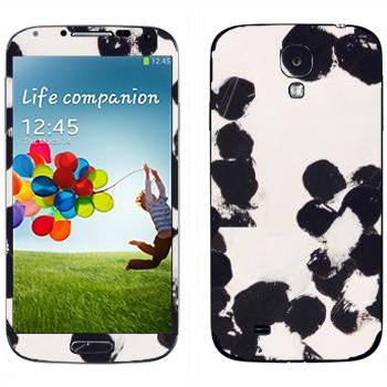 Виниловая наклейка «Черные пятна - Georgiana Paraschiv» на телефон Samsung Galaxy S4