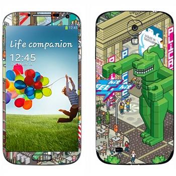 Виниловая наклейка «eBoy - Берлин» на телефон Samsung Galaxy S4