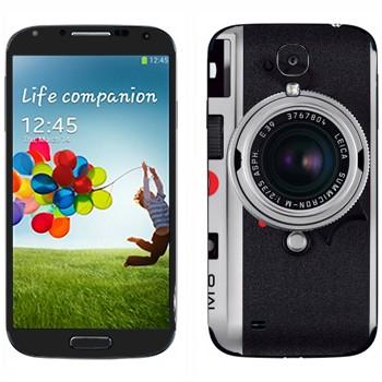 Виниловая наклейка «Фотоаппарт Leica M8» на телефон Samsung Galaxy S4