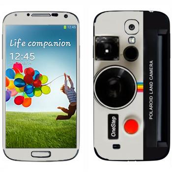 Виниловая наклейка «Фотокамера Полароид» на телефон Samsung Galaxy S4