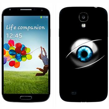 Виниловая наклейка «Глаз» на телефон Samsung Galaxy S4