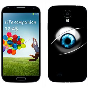 Виниловая наклейка «Глазное яблоко» на телефон Samsung Galaxy S4