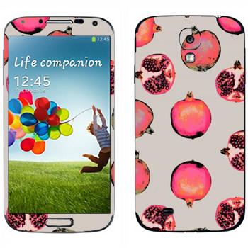Виниловая наклейка «Гранат - Georgiana Paraschiv» на телефон Samsung Galaxy S4