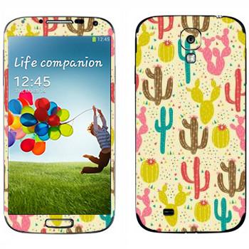 Виниловая наклейка «Кактусы - Anna Deegan» на телефон Samsung Galaxy S4