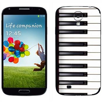 Виниловая наклейка «Клавиши» на телефон Samsung Galaxy S4