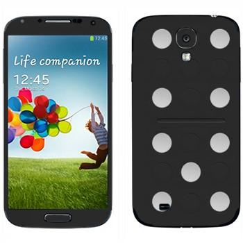 Виниловая наклейка «Кость домино» на телефон Samsung Galaxy S4