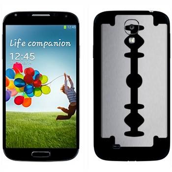 Виниловая наклейка «Лезвие» на телефон Samsung Galaxy S4