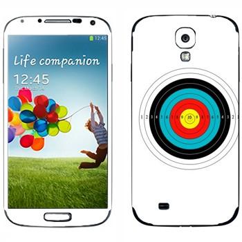 Виниловая наклейка «Мишень» на телефон Samsung Galaxy S4