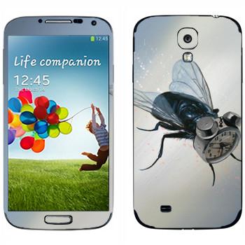 Виниловая наклейка «Муха-будильник - Robert Bowen» на телефон Samsung Galaxy S4