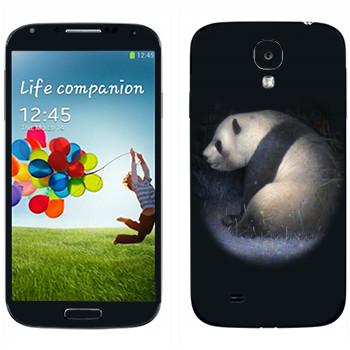 Виниловая наклейка «Панда» на телефон Samsung Galaxy S4