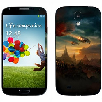 Виниловая наклейка «Протосы возвращаются» на телефон Samsung Galaxy S4